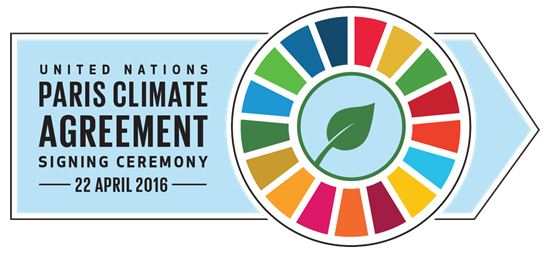 UN Climate Agreement Signing Ceremony - logo