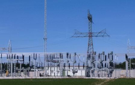 Umspannwerk der Energiequelle bei Petkus - Foto © Gerhard Hofmann, Agentur Zukunft 20160402