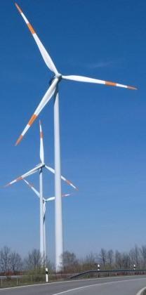 Windgeneratoren bei Bestensee, Mark - Foto © Gerhard Hofmann, Agentur Zukunft, 20160402