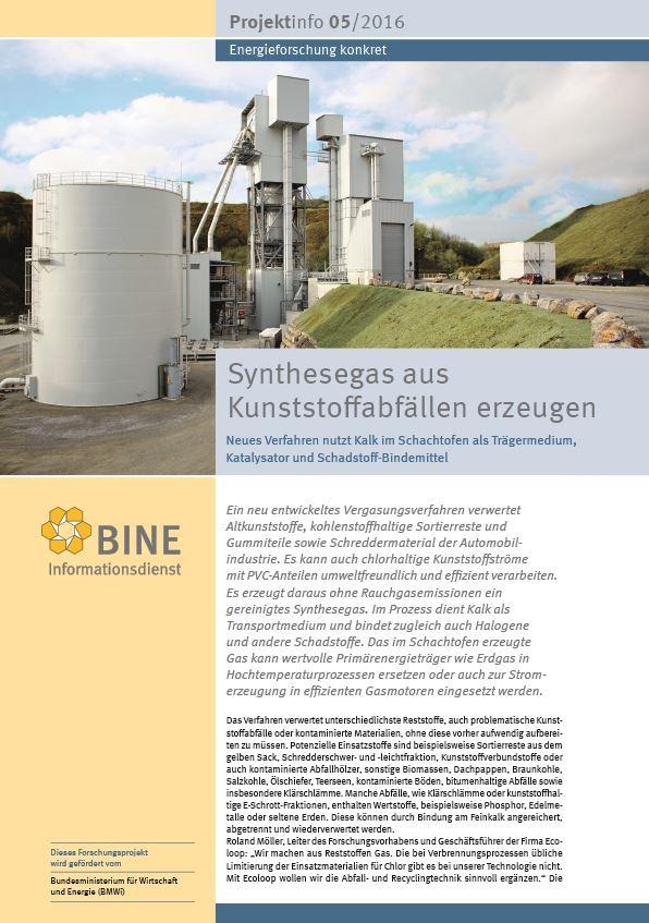 BINE-Projekt-Info 05_2016
