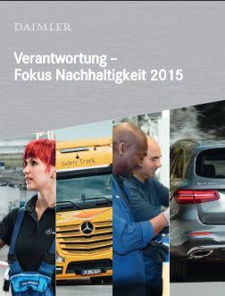 Daimler Nachhaltigkeitsbroschüre © daimler.com