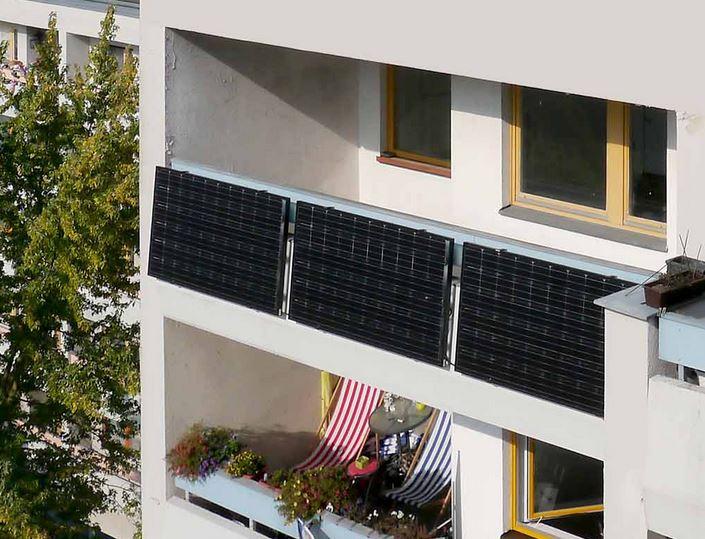 Indielux Balkon PV - Foto © indielux.com