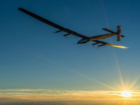 Solarflugzeug - Foto © solarimpulse.com
