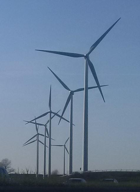 Windgeneratoren bei Baruth, Mark - Foto © Gerhard Hofmann, Agentur Zukunft, 20160402