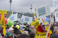 Demonstranten in Berlin - Foto © BEE