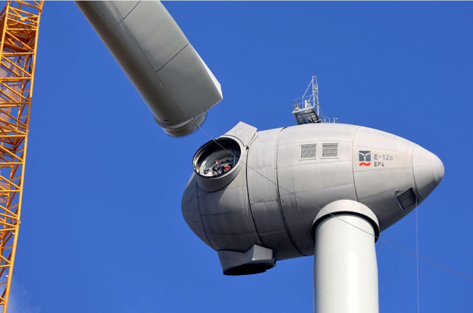 Die neue 4,2-MW-Windgenerator-Generation - Foto © enercon.de