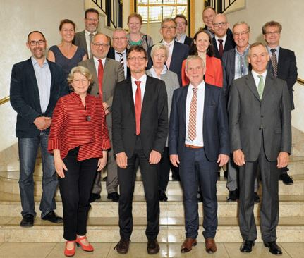 Familienfoto der Umweltministerkonferenz 2016 - Foto © stadtentwicklung.berlin.de