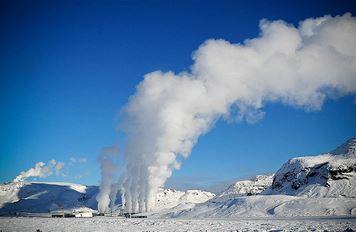 Geothermiekraftwerk Hellisheiði - Foto © open source extremeiceland.is