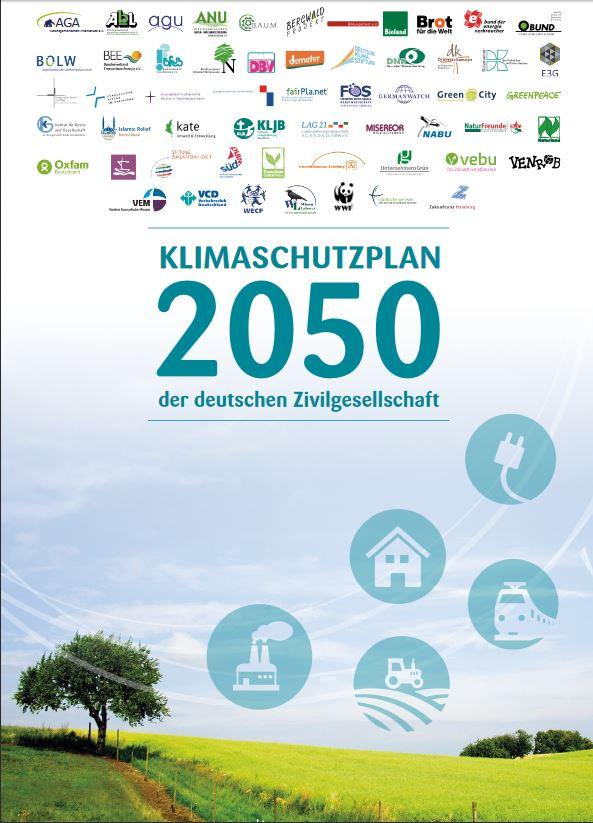 Klimaschutzplan 2050 der deutschen Zivilgesellschaft © Germanwatch