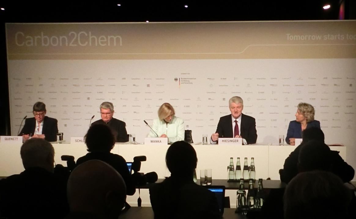 PK Carbon2Chem - Foto © Gerhard Hofmann, Agentur Zukunft für Solarify