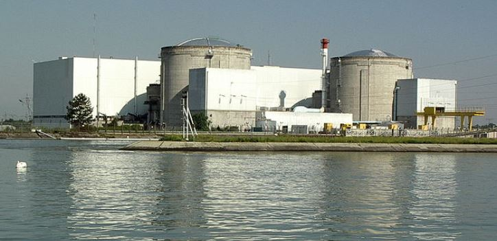 AKW Fessenheim - Foto © Florival_fr derivative work César - Licensed under CC BY-SA 3.0 via Wikimedia Commons