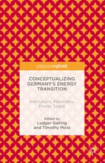 'Conceptualizing Germany's Energy Transition' - Buchtitel