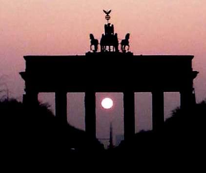 Sonnenuntergang über Berlin - Foto © Gerhard Hofmann, Agentur Zukunft für Solarify 20120315