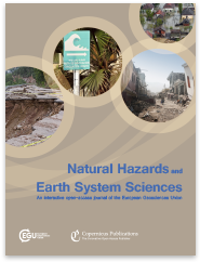 Journal Natural Hazards and Earth System Sciences - Cover © EGU Journals Copernikus Publications
