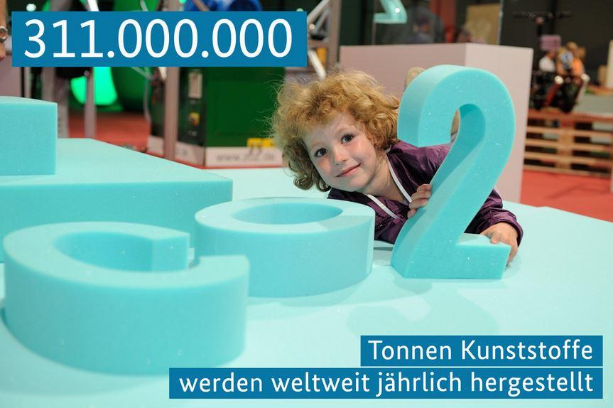 311.000.000 Tonnen Kunststoffe werden jährlich hergestellt - Bild © BMBF