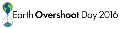 Earth Overshoot Day 2016 - logo