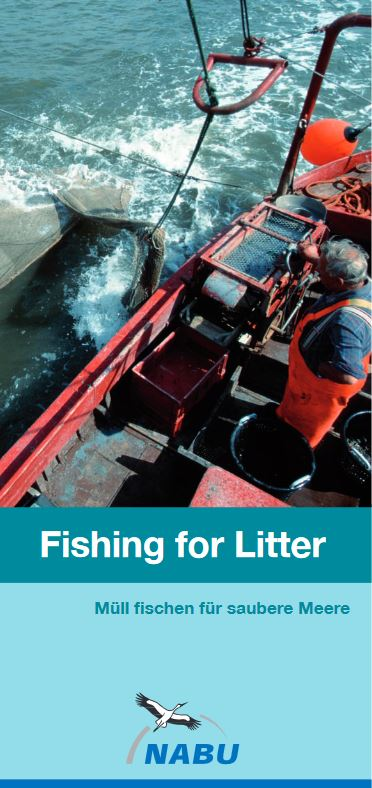 Fishing for Litter, NABU - Flyer © NABU