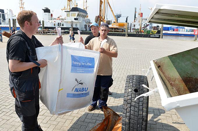 Fishing for Litter-Projekt - Foto © NABU, Kim Detloff