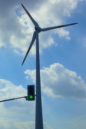Grünes Licht für Windenergie - Foto © Gerhard Hofmann, Agentur Zukunft- 20150829_124404