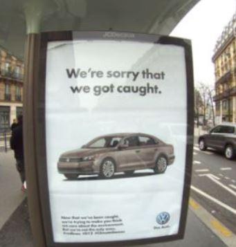 Ironisches 'Reklame'-Kunstwerk von Brandalism - Foto ©  Barnbrook brandalism.org.uk
