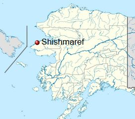 Karte © en.wikipedia.org_wiki_Shishmaref