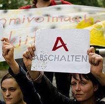Proteste gegen Areva - Foto @ weltweit.nirgendwo.info