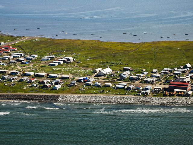 Shishmaref - Foto © Bering Land Bridge National Preserve, CC BY 2.0, commons.wikimedia.org