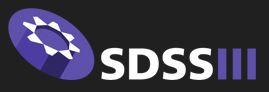 Sloan Digital Sky Survey III (SDSS-III) logo