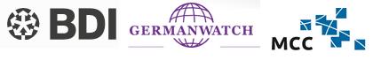 BDI, Gernabwatch, MCC - logos