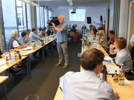 DWD und UBA bei Klimafrühstücik in Berlin - Foto © Gerhard Hofmann, Agentur Zukunft für Solarify