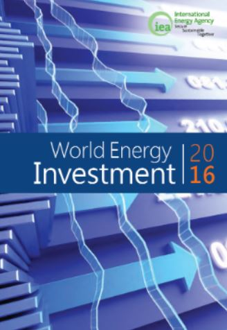 World Energy Investment 2016 - Titel © IEA