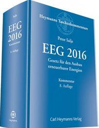 EEG 2016 -'Titel © Carl Heymanns Verlag
