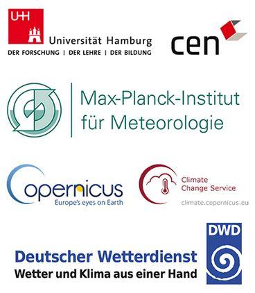 Jahreszeiten-Wettervorhersage - Logos der mitarbeitenden Institutionen