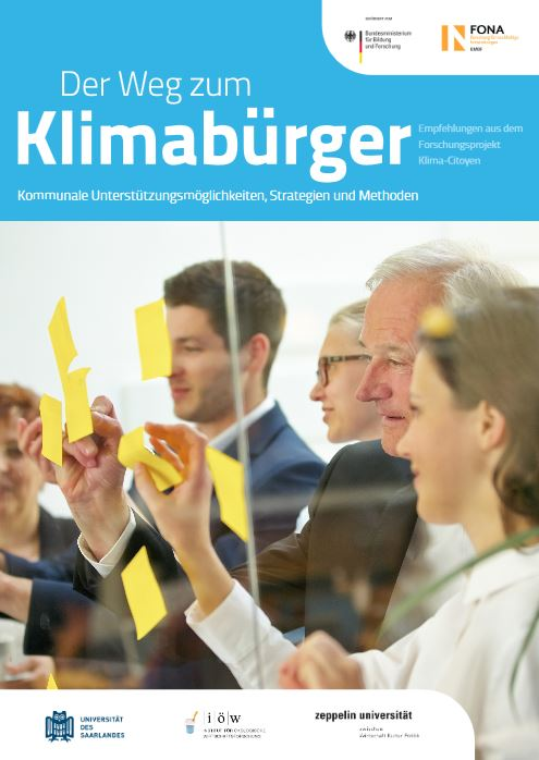 Der Weg zum Klimabürger - Broschüre © BMBF FONA