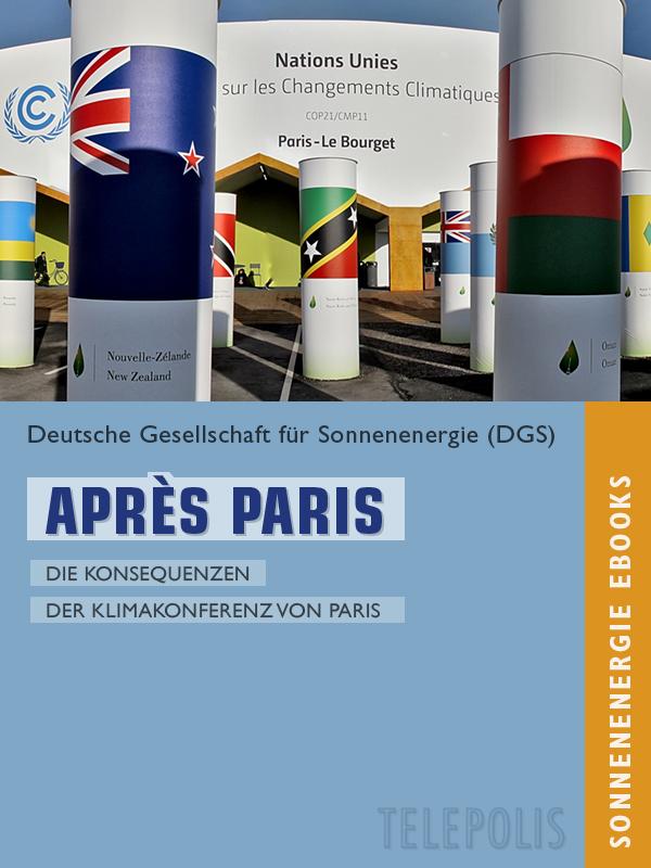 Après Paris - Die Konsequenzen der Klimakonferenz von Paris - Titel © DGS