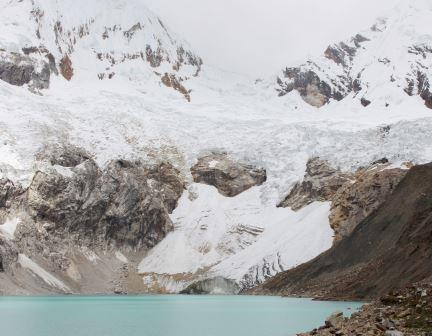Gletschersee Palacocha in den peruanischen Anden - Foto © GERMANWATCH