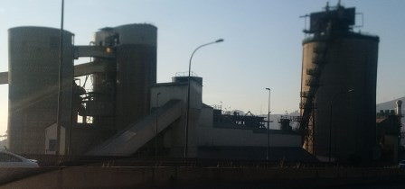 Zementwerk Barcelona - Foto © Gerhard Hofmann für Solarify