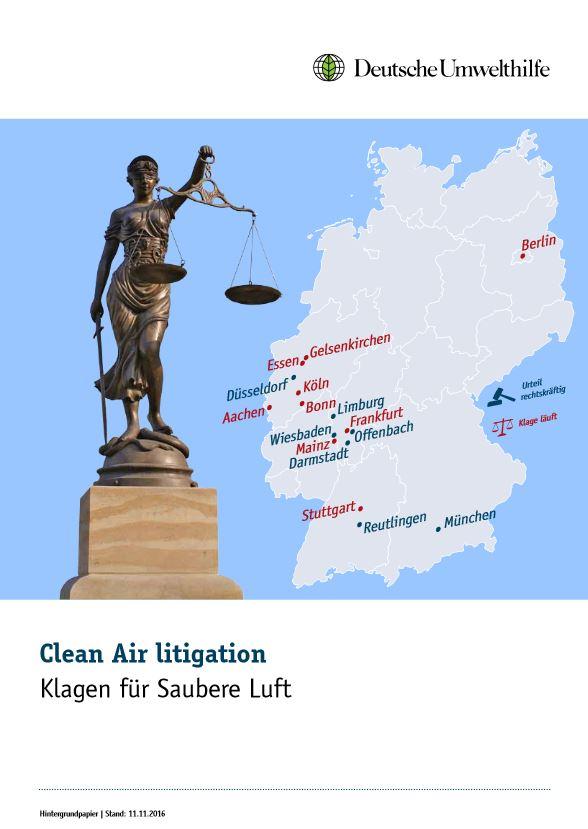 DUH-Klagen für saubere Luft - Titel © Deutsche Umwelthilfe