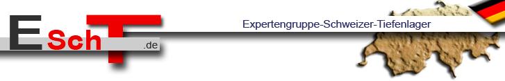 Expertengruppe Schweizer Tieflager (ESchT) - Logo