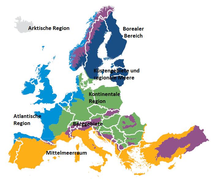 Klimazonen Europas Von Nord Nach Süd