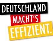Deutschland macht's effizient - Logo