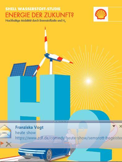 Shell Wasserstoff-Studie - Titel © Shell Deutschland