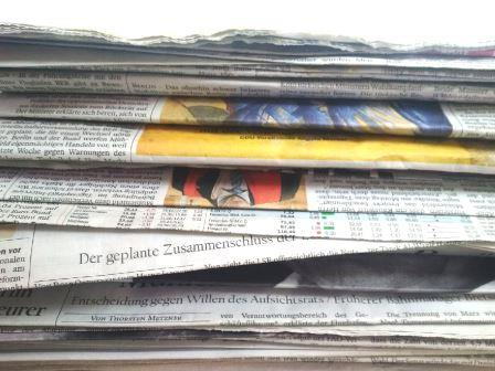 Zeitungen - Foto © Agentur Zukunft für Solarify