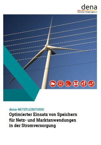 dena-Netzflexstudie - Titel © Deutsche Energie Agentur 2017