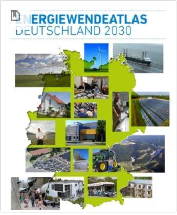 Energiewende Atlas - Deutschland 2030 - Titel © Agentur für Erneuerbare Energien