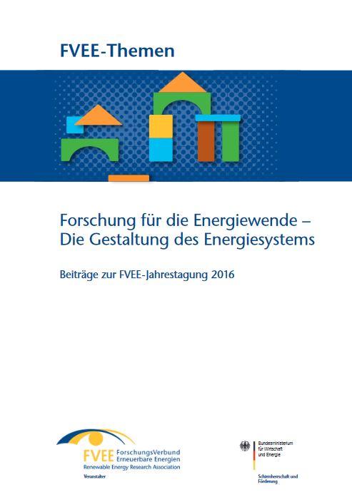 Forschung für die Energiewende - Die Gestaltung des Energiesystems - Titel © FVEE