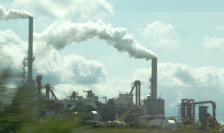 Rauchabzug Fabrik bei Iphofen - Foto © Agentur Zukunft für Solarify