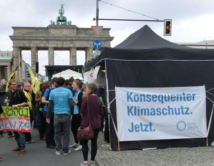 Klimaschutz-Demo 2014 - Foto © Agentur Zukunft für Solarify