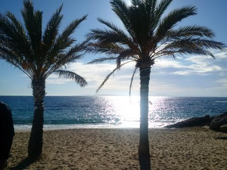 Strand bei Rosas, Costa Brava - Foto © Gerhard Hofmann für Solarify