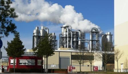 Laminatfabrik Kronotex Heiligengrabe - Foto © Agentur Zukunft für Solarify